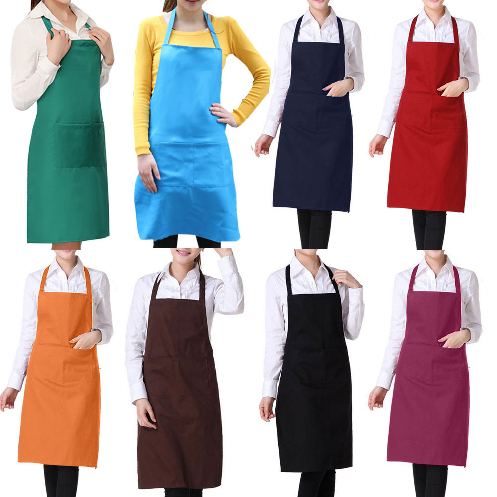 Fashion Light Weight Polyester Kitchen Apron For Lady Sale