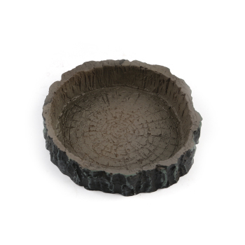 Round Shape Resin Reptile Bowl 1