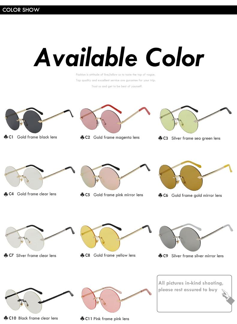 Round Sunglasses Vintage