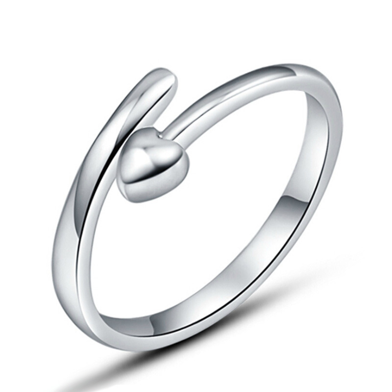 ᗖ2017 echt Aneis Ringe Für Frauen Fashion Simple Love Herz ...