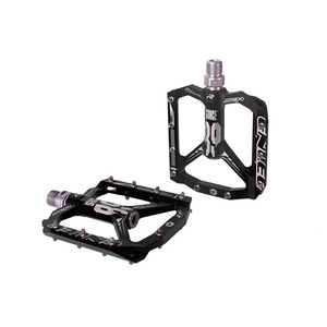 Image 4 - Ultralight bicycle pedal all CNC mtb DH XC mountain bike pedal L7U Material +DU Bearing Aluminum Pedals