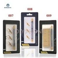Qianli 007 008 009 metal bisturi faca ferramentas kit cortador de gravura facas artesanais + 3 pçs lâminas do telefone celular pcb reparação ferramentas manuais