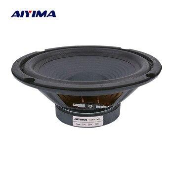 цена на AIYIMA 1Pc 8 Inch Midrange Bass Speakers 8 Ohm 200W 35 Core 100 Magnetic Audio Speaker Woofer LoudSpeaker DIY For Home Theater
