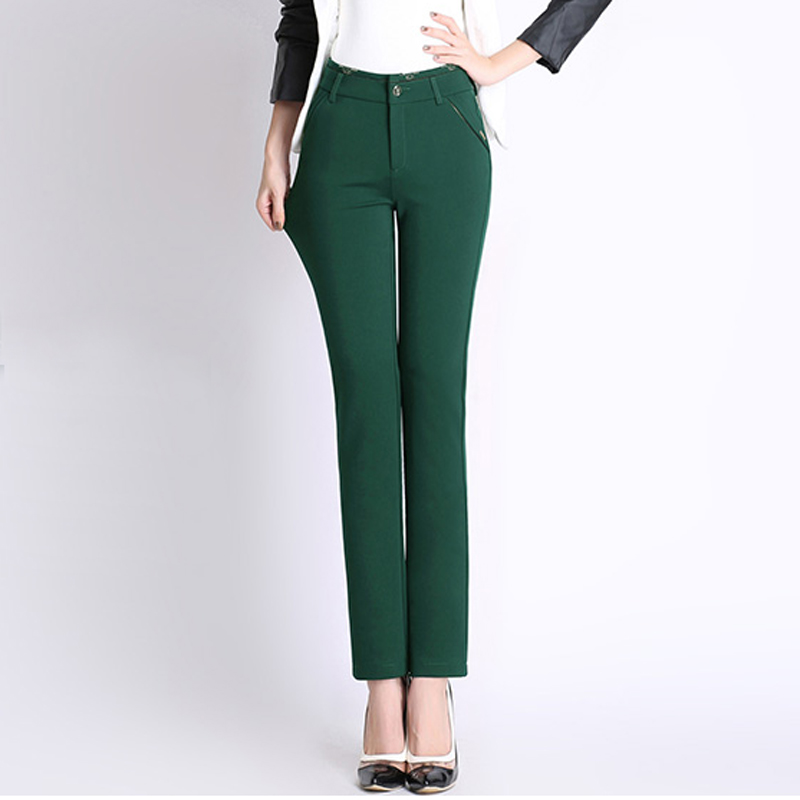 Hot Sale autumn and winter Formal Pencil Pants women ...