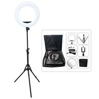Yidoblo 48W Adjustable Bio color Ring Lamp 2800 5500K Wholesale Broadcast/Video/ photography / makeup Ring Light LED Lamp kit