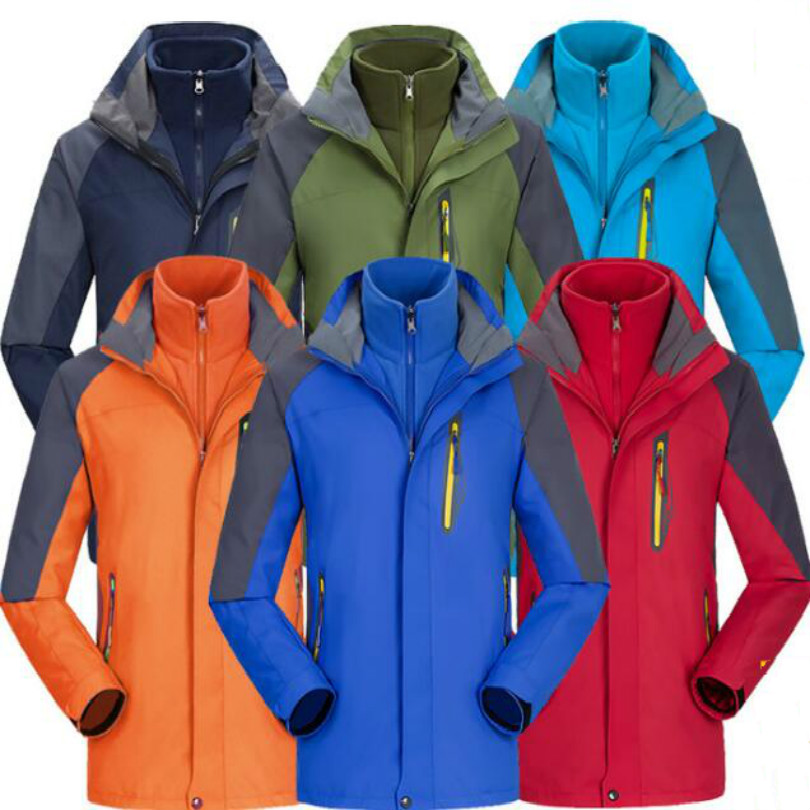 Removable keep warm waterproof windproof motorcycle jacket scooter jackets for winter rider S M L XL XXL XXXL
