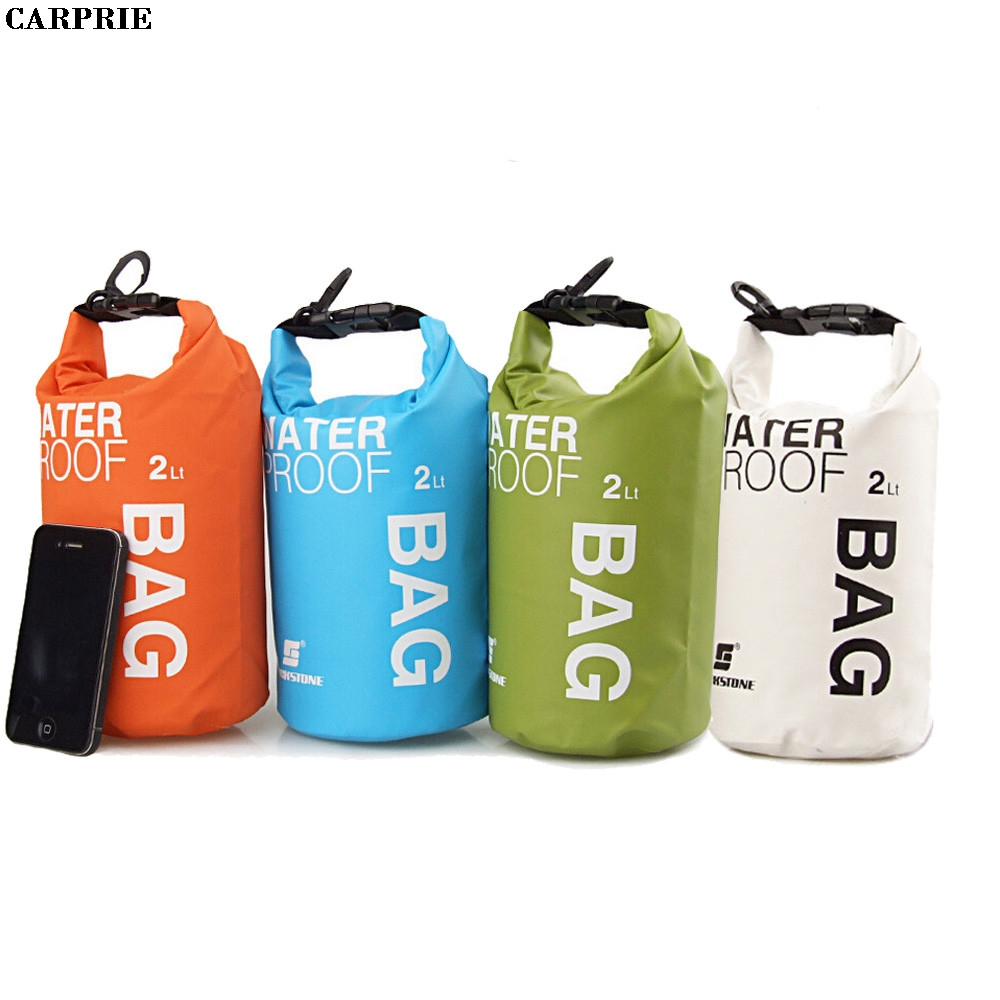 CARPRIE 2L Waterproof Bag Storage Dry Bag for Canoe Kayak Rafting Mobile phone camera High Quality Drop Shipping Drop Shipping
