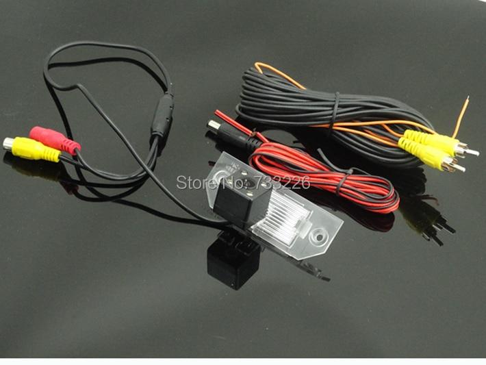 """2 в 1 HD 4,"""" 800*480 Зеркало монитор+ HD CCD парковочная камера для Ford Focus Sedan(2)(3)/08/10 для Фокус ночное видение Цвет"""