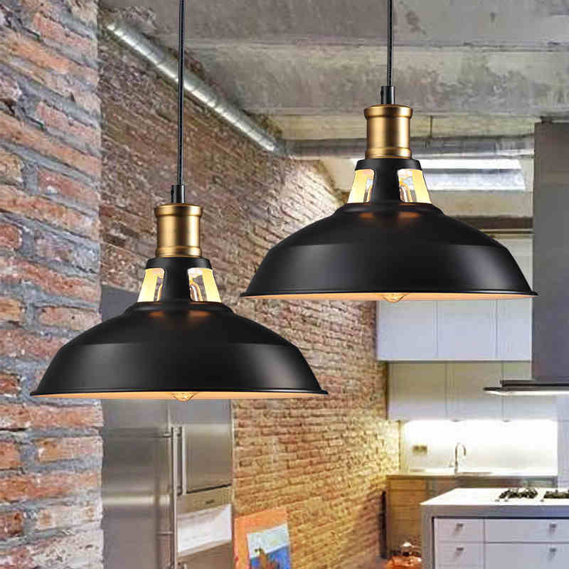 Loft Pendant Lights Vintage Rh Edison Hanging Lamp E27 110 220v Lamps For Home Decor Restaurant Luminarias In From