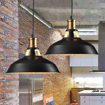 Loft lampes suspendues industrielles Vintage RH Edison lampe suspendue E27 110 220 V lampes suspendues pour la décoration intérieure Restaurant Luminarias