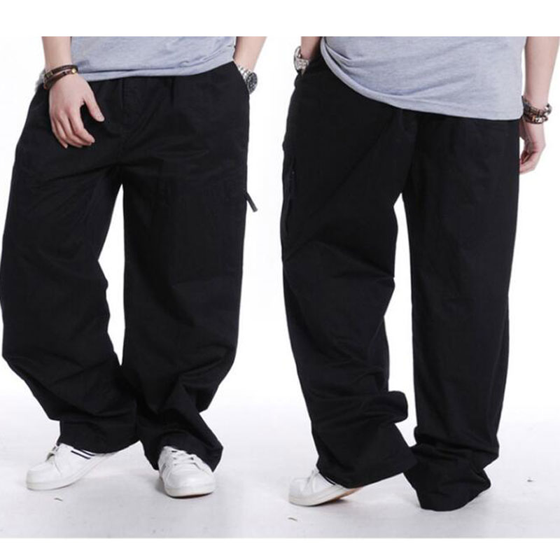 a38660a6fb0 spring Men s Plus Size Clothing 4XL 5XL 6XL Cargo Pants Big Tall Men Casual  Many Pockets Loose Work Pants Male Straight Trousers