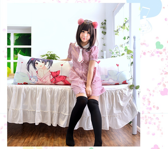 Anime Dakimakura Pillow Case CC023 Code Geass C.C. 150*50cm-Peach Skin
