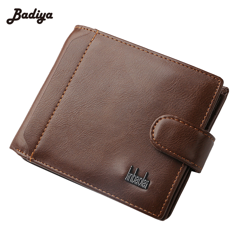 New High Quality PU Leather Wallet Purse Men Short Wallets Purse For Money And Card Hasp Wallet Coin Pocket Brand Male Purses brand short leather men wallet new design casual money wallets coin pouch 2 folds card