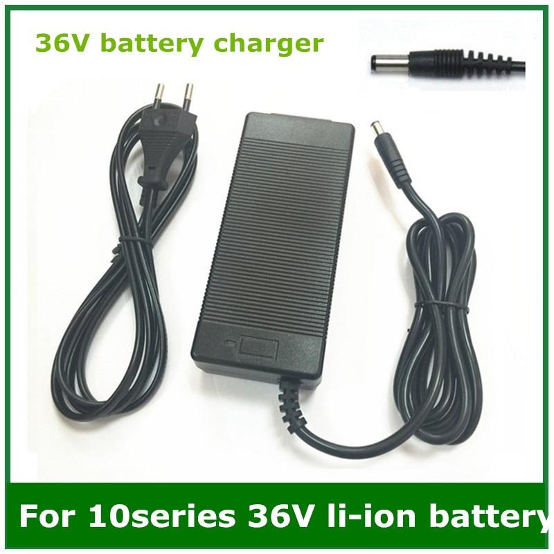 36 v 2A batterie ladegerät Ausgang 42V2A Ladegerät Eingang 100-240 VAC Lithium Li-Ion Li-poly Ladegerät Für 10 serie 36 v Elektrische Fahrrad