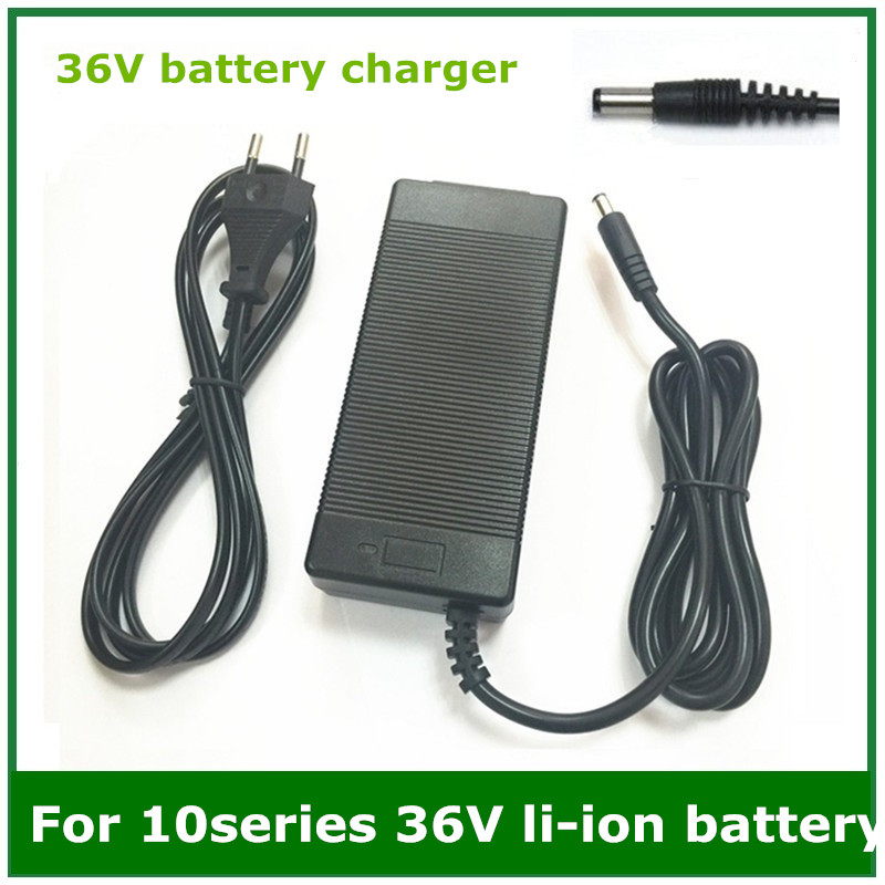 36V 2A battery charger Output 42V 2A Charger Input 100-240 VAC Lithium Li-ion Li-poly Charger For 10Series 36V Electric Bike 36v 8ah lithium ion li ion rechargeable battery for electric bikes and 36v power bank free charger