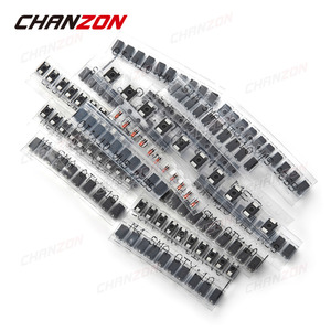 Image 2 - SMD מהיר מיתוג שוטקי דיודה מגוון ערכת סט (M1 M4 M7 S1M S2M S3M SS14 SS16 SS24 SS26 SS34 SS36 RS1M US1M LL4148)