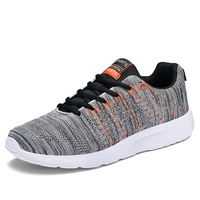 Lightweight Sneakers Mens Shoes Sport Trainers White Breathable Soft Comfortable Sneakers 2019 Spring Summer Men Running Shoes