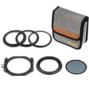 Image 5 - Kit de support de filtre Nisi V6 système 100mm avec filtre polarisant circulaire CPL 67 72 77 82mm bague adaptateur pour filtres carrés