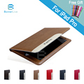 Luxury Automatic Wake-up Sleep Smart Cover Leather Case for iPad Pro 9.7 / 12.9 inch with Stylus Pen as Gift