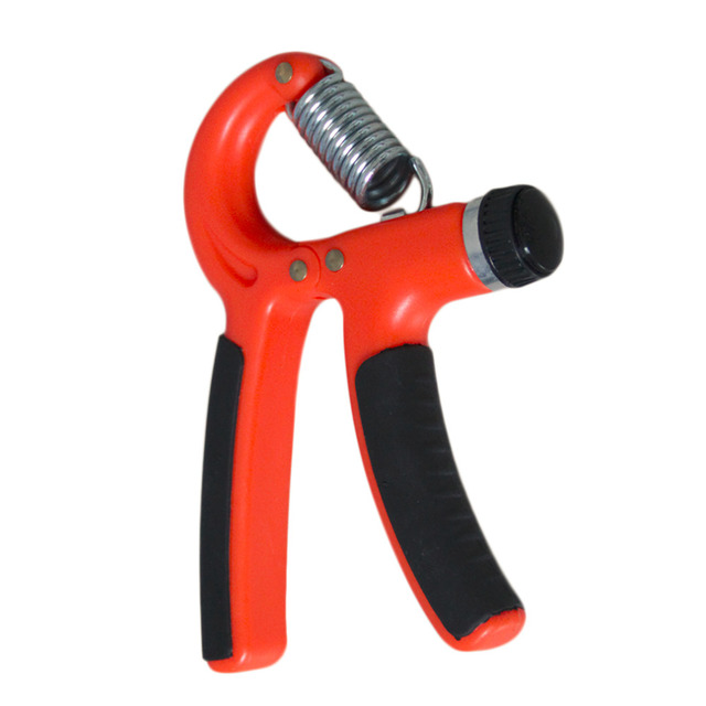 Brand New Plastic Adjustable Hand Grip Fitness Pinch Meter Portable Hand Expander Hand Gripper Exerciser Tool Fast Shipping