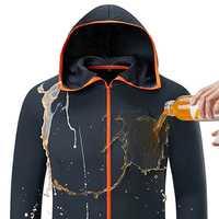 Hydrophobic Ice Silk Man Women Fishing Clothing Coat Waterproof Anti-Fouling Quick-Drying Outdoor Camping Hiking Hooded Jackets