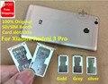 Original For Xiaomi Redmi 3 Pro Dual SD/SIM Holder cato Sim Tray Nano SIM 1/2 Micro TF Card Replacement Repair Parts Card Slot