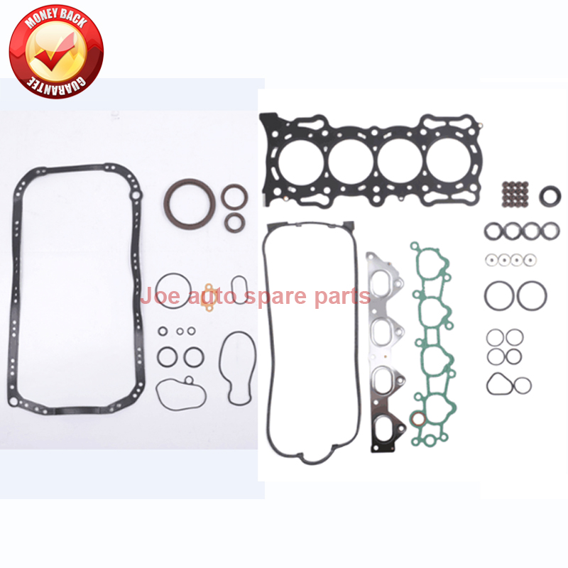 F22A2 Engine Full gasket set kit for Honda Prelude S SI 1992-1996 145 hp 2.2L SOHC cylinder head for honda accord prelude 2156cc 2 2l petrol sohc 16v engine f22a1 12100 pob a00 12100poba00 12100 pob a00