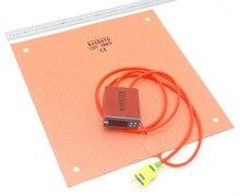 Keenovo силиконовый обогреватель (400 мм x 400 мм 1000 Вт) creality cr-10 S4 3D-принтеры грелку + цифровой контроллер