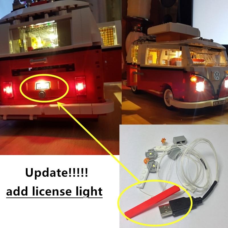 New Led Light Kit Only For Lego Technic 10220 T1 Camper