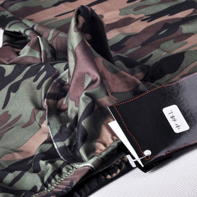 camouflage mens cargo pants fashion sexy camouflage dress camouflage Male Middle Pants Elastic Waist Design  M02-2 5