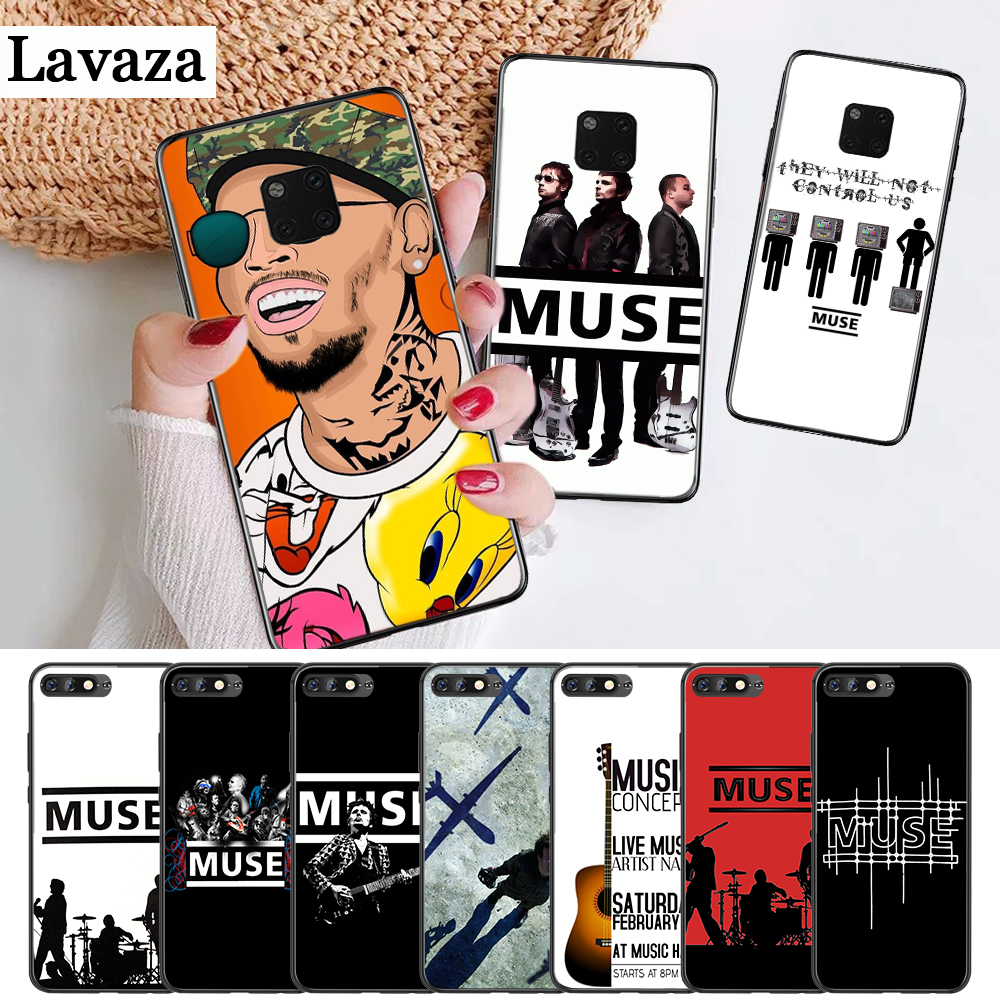 Muse Band Lyrics Music Songs Silicone Case for Huawei Mate 10 Pro 20 30 Lite Y5 Y6 Y7 Y9 Prime 2019 2018 2017 image