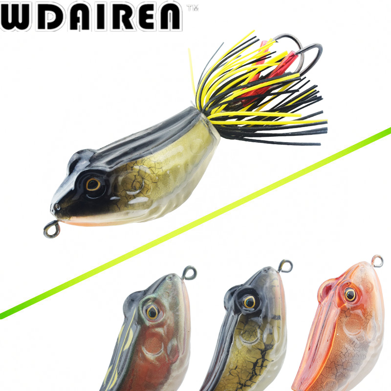 High Quality Kopper Live Target ABS Frog Lure 5cm 12g Snakehead Lure Topwater Simulation Frog Fishing Lure 3D hard Bass Bait блуза zarina zarina za004ewuoq11