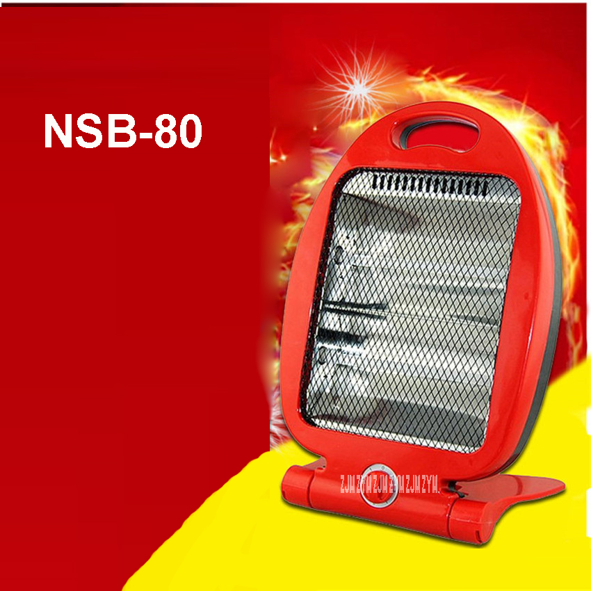 800 W Electric Heaters Desktop Family Fan Speed Red Hot Body Warmer Heating Durable Quality Quartz Tube NSB-80 Electric Heaters guerlain guerlain пудра шарики meteorites perles 4 dore 25 г