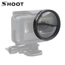 SCHIEßEN 52mm Lupe 10x Vergrößerung Macro Close Up Objektiv für GoPro Hero 7 5 6 Schwarz Action Kamera Zubehör für GoPro 7 6 Cam