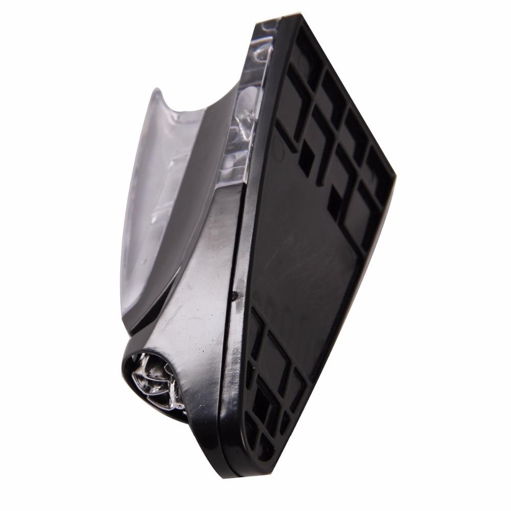 Posbay черная автомобильная антенна плавник акулы СВЕТОДИОДНЫЙ Красочный ветер мощность освещенная воздушная крыша наклейки украшения универсальные для Toyota антенна