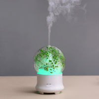 GXZ 7 Colors Lights Flower Humidifier Aroma Diffuser Essential Oil Diffuser Ultrasonic Aromatherapy Air Purifier Mist