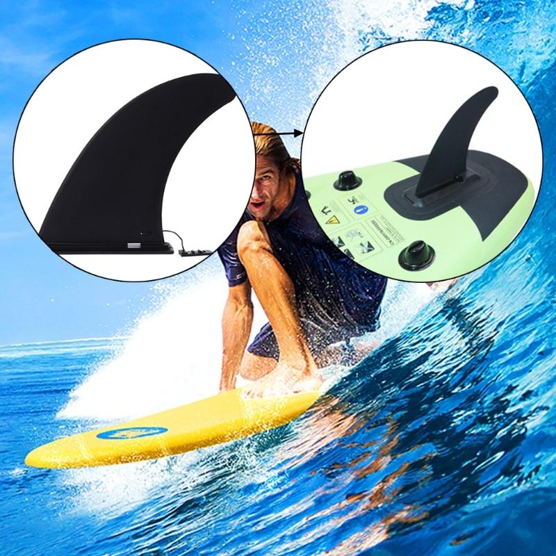 Black Nylon Surfboard Fins Buckle Type Canoe Paddle Board