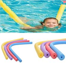 Flexible Floating Swimming Pool Noodle Swim Kickboard Water Float Aid Woggle Noodles Hollow Learn Swimming Foam DIY Toys(China)