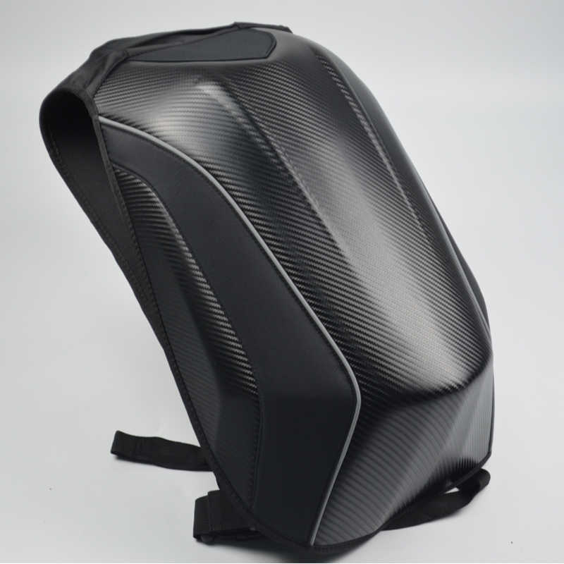 Мотоциклетная сумка, водонепроницаемый мотоциклетный рюкзак из углеродного волокна, сумка для мотокросса, мотоциклетный рюкзак Knight