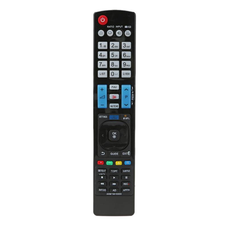 Universal TV Remote Control Replacement IR Infrared Television Remote Control for LG AKB73615303 3D TV Remote Control universal tv remote keychain