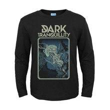 12 дизайнов, темное спокойствие, рок, модный бренд, для мужчин и женщин, полная рубашка с длинными рукавами, тяжелый черный металл, панк, готический стиль, фитнес