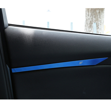 Car Styling for ford focus 3 2012-2017 Stainless Steel Interior door plank armrest Decorative sequins cover car accessories