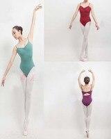 Size US6 12 UK8 14 Eur36 42 Professional Adult Ballet Dance Cotton Leotard Dancewear Costume Gymnastic