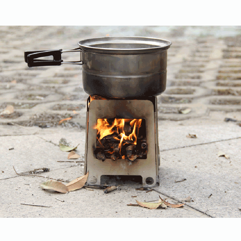 Elegant Portable Camping Wood Stove Stainless Steel Outdoor Stove Wood Lightweight Folding Burning Firewoods Furnace Hiking BBQ Cooking in Outdoor Stoves from For Your House - Minimalist outdoor stove Fresh