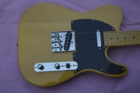 Hot sale Chinese electric guitar tl, yellow color, free shipping guitar tele, 22 fret limited edition classic guitar tl
