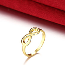 Modyle Gold/Silver Color Infinity Ring Eternity Ring Charms Best Friend Gift Endless Love Symbol Fashion Rings For Women