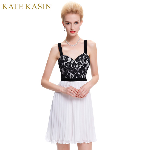 5c674a6ae3 Kate Kasin Lace Short Prom Dresses 2017 ...
