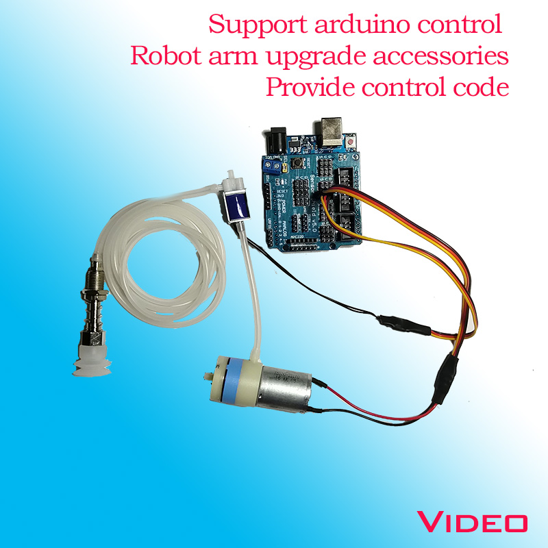 🛒[vfsps] Robotic arm vacuum suction pump / can use arduino