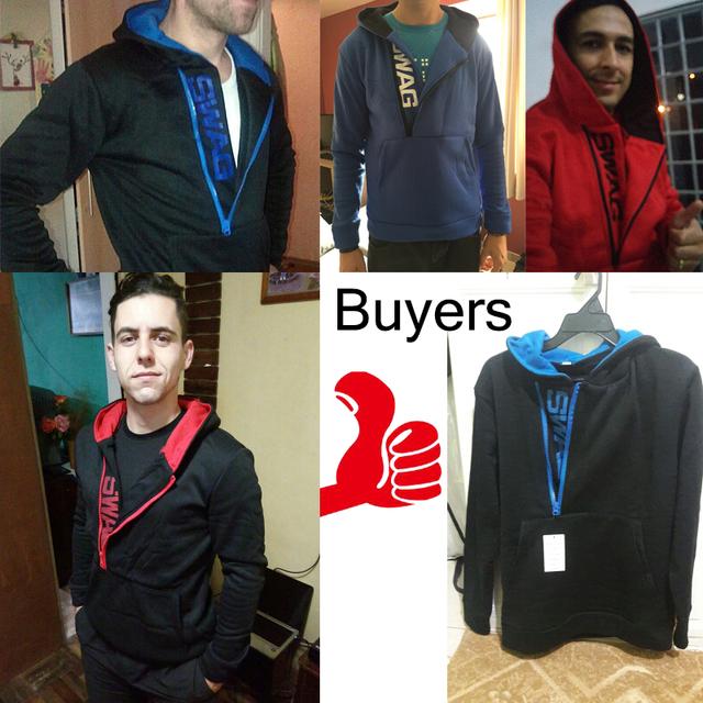 Swag Side Zipper Fashion Hoodies