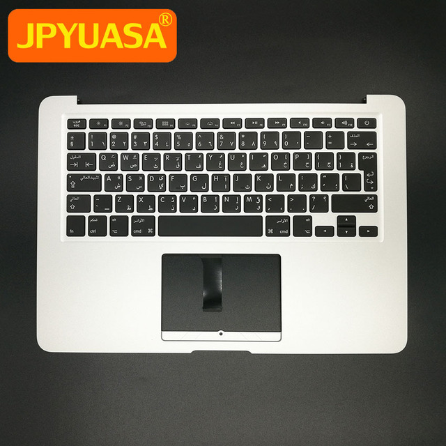 save off acd86 3d486 US $68.64 |Brand New Arab Arabic Top Case with keyboard+Backlight For  MacBook Air 13.3